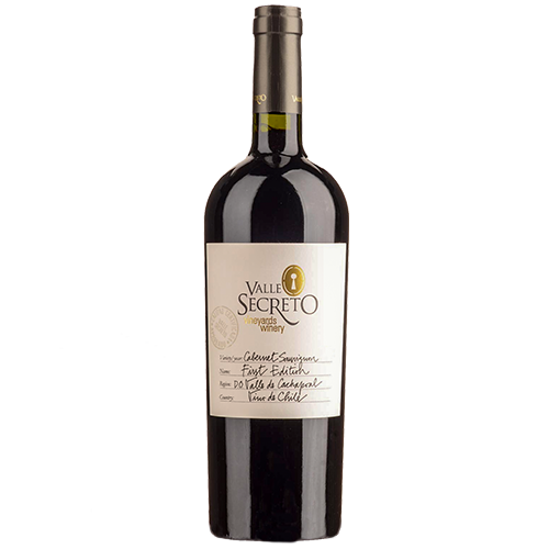 First-edition-cabernet-sauvignon-valle-secreto-DO-alto-cachapoal-chile