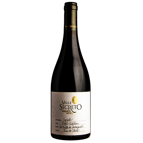 First-edition-syrah-valle-secreto-DO-alto-cachapoal-chile