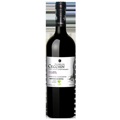 Organic-Malbec-Reserve-Familia-Cecchin-IG-Mendoza-Argentina